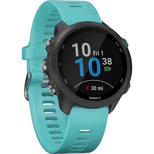 Garmin Forerunner 245 Music GPS Running Smartwatch (Aqua)