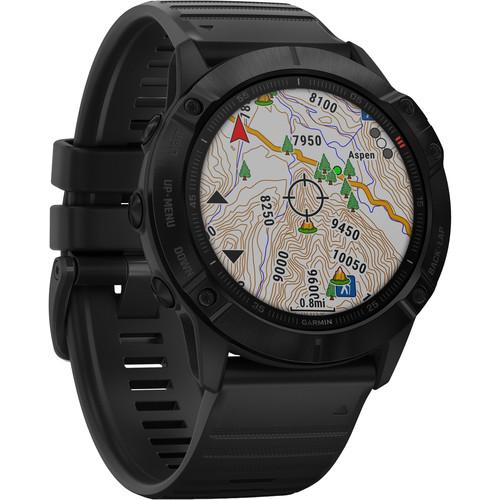 Garmin fenix 6X Multisport GPS Smartwatch (51mm, Pro, Black / Black Band)