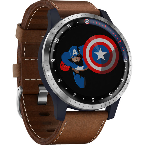 Garmin Legacy Hero First Avenger/Captain America Smartwatch (45mm)