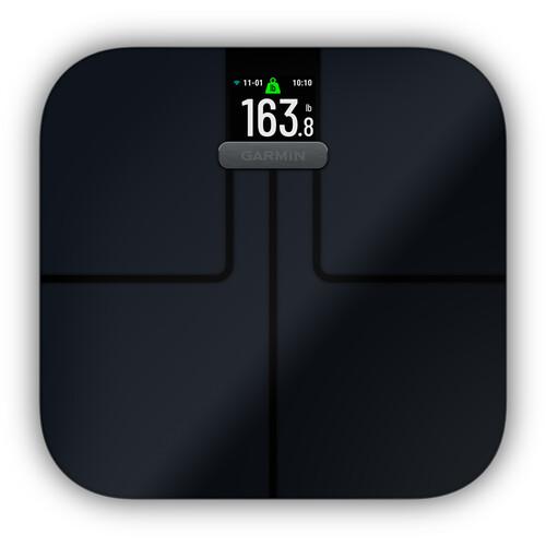 Garmin Index S2 Smart Bathroom Scale (Black, North America)