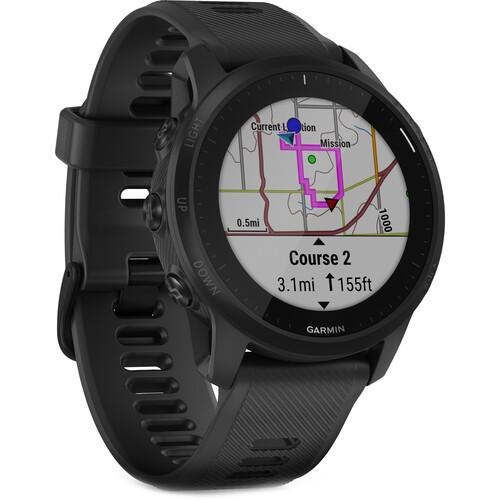 Garmin Forerunner 945 GPS Running Smartwatch (Black, LTE)