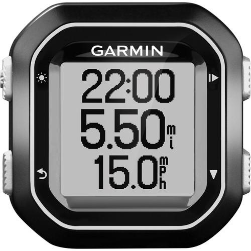 Garmin Edge 25 GPS-Enabled Bluetooth Bike Computer with Cadence Sensor