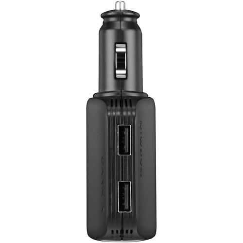 Garmin High-Speed Multi-Charger with Dual USB 2.0 Ports and 12V Outlet
