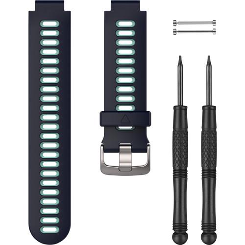 Garmin Watch Band for Forerunner 230/235/630/735XT (Midnight Blue/Frost Blue)