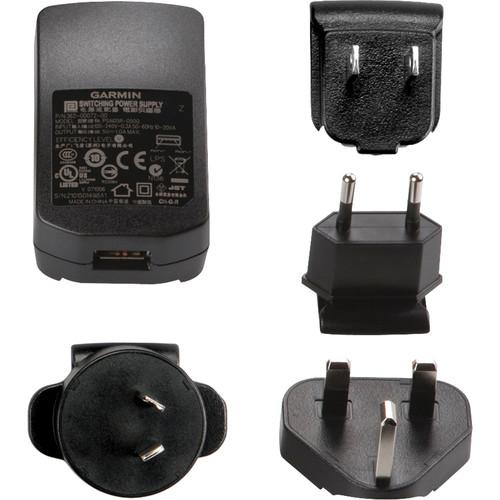 Garmin AC / USB Power Adapter with US, UK, Europe, Australia Plugs