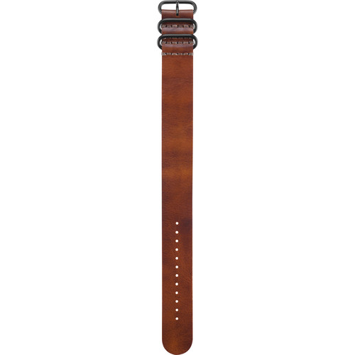 Garmin Leather Strap for fenix 3 and tactix Bravo (Brown)