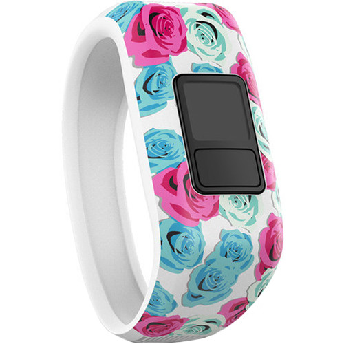 Garmin vivofit jr. Band (XL, Real Flower)