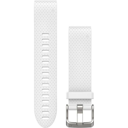 Garmin QuickFit 20 Silicone Watch Band (White)