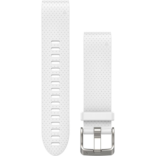 Garmin QuickFit 20 Silicone Watch Band (White Dots)