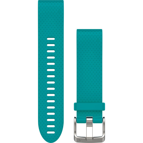Garmin QuickFit 20 Silicone Watch Band (Turquoise)