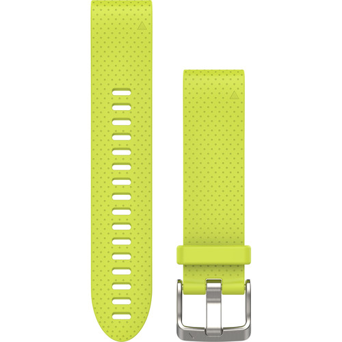 Garmin QuickFit 20 Silicone Watch Band (Amp Yellow)