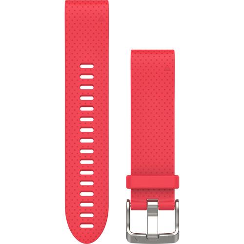 Garmin QuickFit 20 Silicone Watch Band (Azalea Pink)