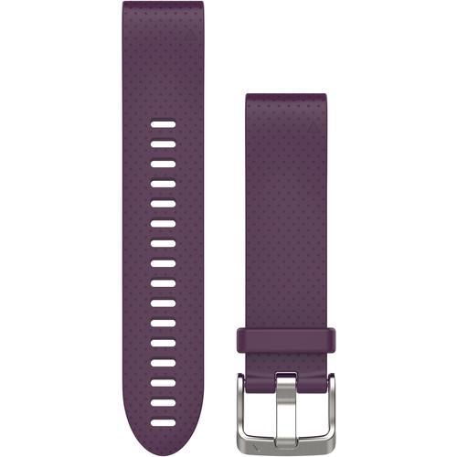 Garmin QuickFit 20 Silicone Watch Band (Amethyst Purple)