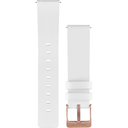 Garmin Leather Watch Band for vivomove (White)