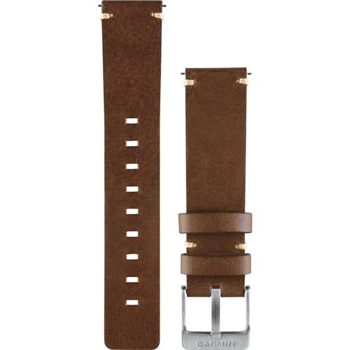 Garmin Leather Watch Band for vivomove (Dark Brown)