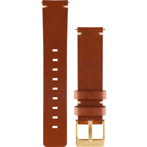 Garmin Leather Watch Band for vivomove (Light Brown)