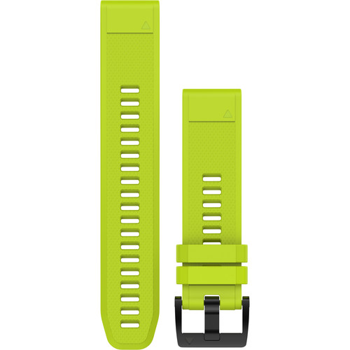 Garmin QuickFit 22 Silicone Watch Band (Amp Yellow)