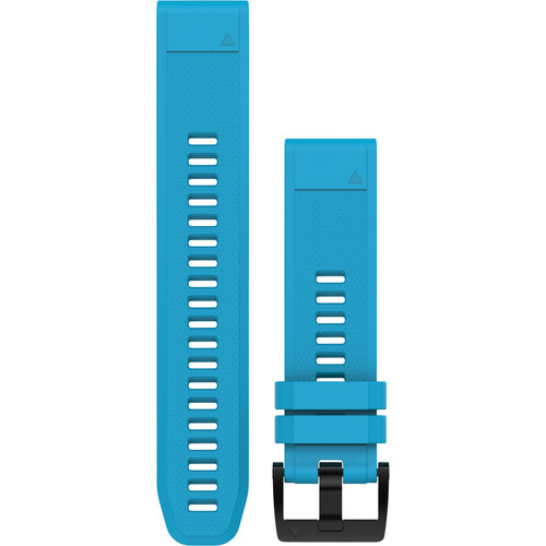 Garmin QuickFit 22 Silicone Watch Band (Cirrus Blue)