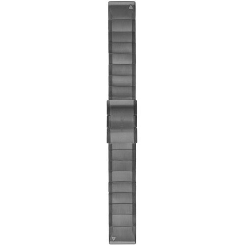 Garmin QuickFit 22 Stainless Steel Watch Band (Slate Gray)
