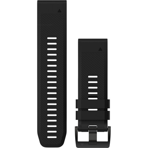 Garmin QuickFit 26 Silicone Watch Band (Black)