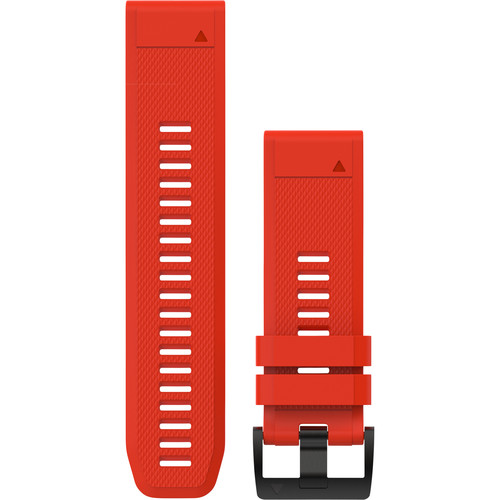 Garmin QuickFit 26 Silicone Watch Band (Flame Red)