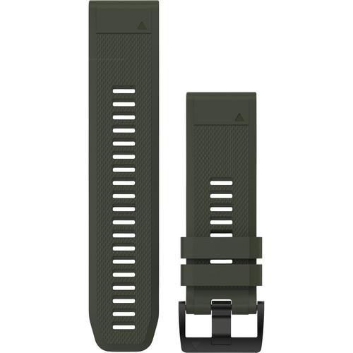 Garmin QuickFit 26 Silicone Watch Band (Moss Green)