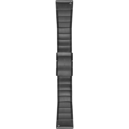 Garmin QuickFit 26 Stainless Steel Watch Band (Slate Gray)