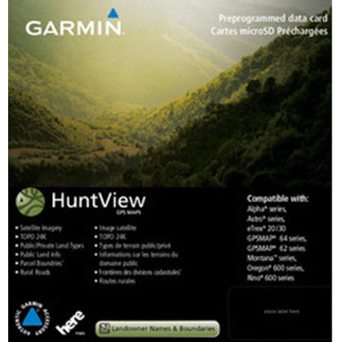 Garmin HuntView Maps (West Texas)