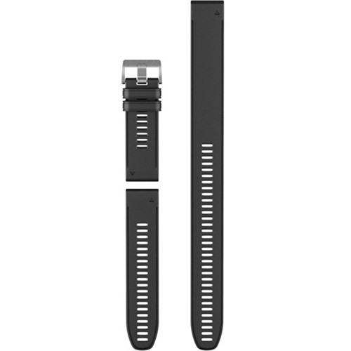 Garmin QuickFit 26 Silicone Watch Band for Descent Mk1 (Black)