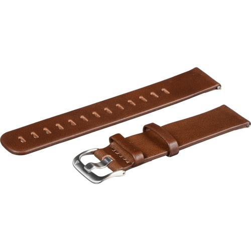 Garmin Quick Release Band (Dark Brown Leather)