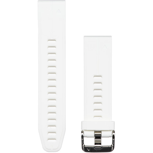 Garmin QuickFit 20 Silicone Watch Band (Carrara White)