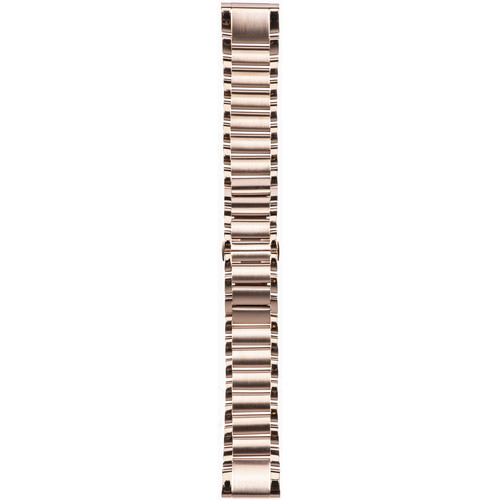 Garmin QuickFit 20 Stainless-Steel Watch Band (Rose Gold-Toned)