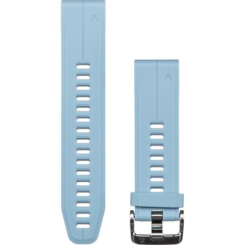 Garmin QuickFit 20 Silicone Watch Band (Sea Foam Blue)