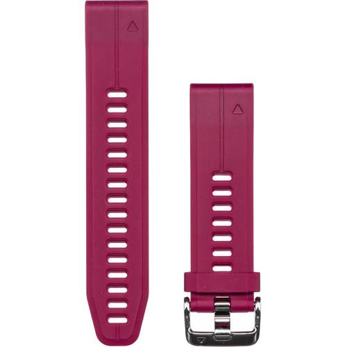 Garmin QuickFit 20 Silicone Watch Band (Cerise)