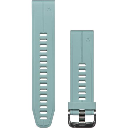 Garmin QuickFit 20 Silicone Watch Band (Grayed Jade)
