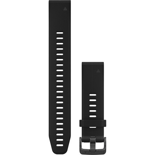 Garmin QuickFit 20 Silicone Watch Band (Black, Large)