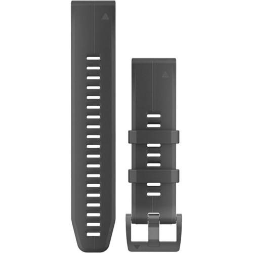 Garmin QuickFit 22 Silicone Watch Band (Black)