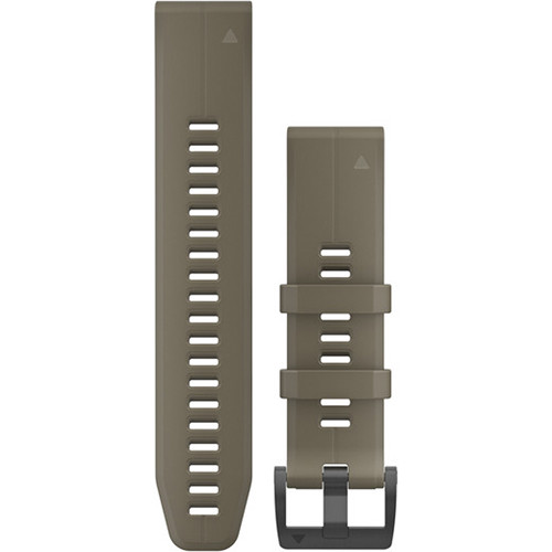 Garmin QuickFit 22 Silicone Watch Band (Coyote Tan)