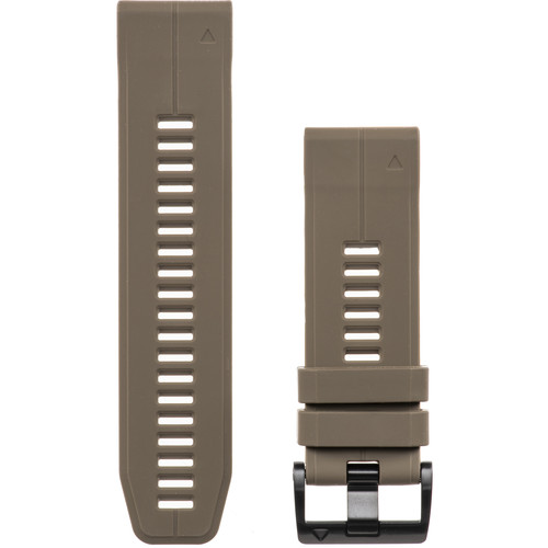 Garmin QuickFit 26 Silicone Watch Band (Coyote Tan)