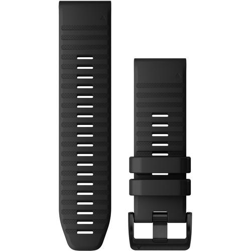 Garmin QuickFit 26 Silicone Watch Band (Black)