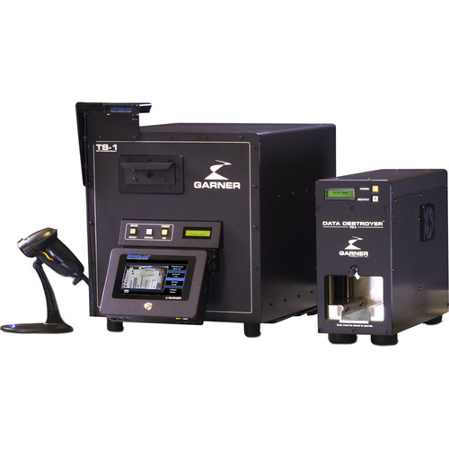 Garner TS-1 Degausser Kit with PD-5 Drive Destroyer & IRONCLAD Verification