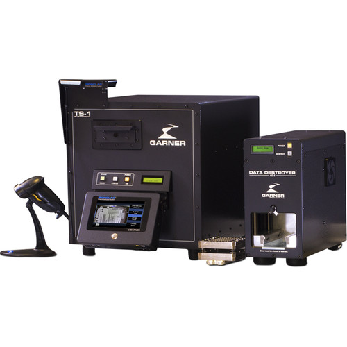 Garner TS-1 Degausser Kit with PD-5 & SSD-1 Destroyers & IRONCLAD Verification