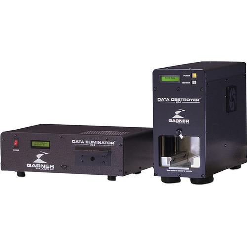 Garner HD-2 Hard Drive & Tape Degausser with PD-5 Hard Drive Destroyer