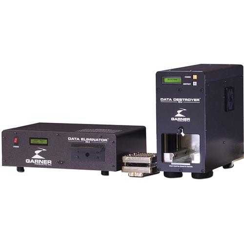 Garner HD-2 Hard Drive & Tape Degausser with PD-5 Hard Drive Destroyer and SSD-1 Media Destroyer