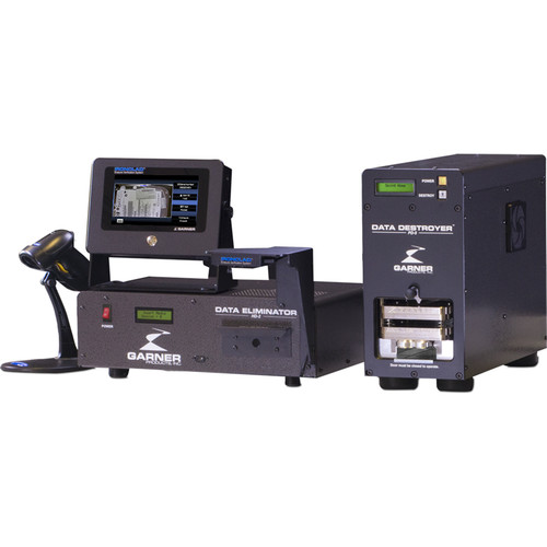 Garner HD-2 Degausser Kit with IRONCLAD Verification, PD-5 & SSD-1 Destroyers