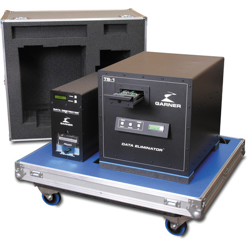 Garner PD-5 Multiple Hard Drive Destroyer Package with SSD-1
