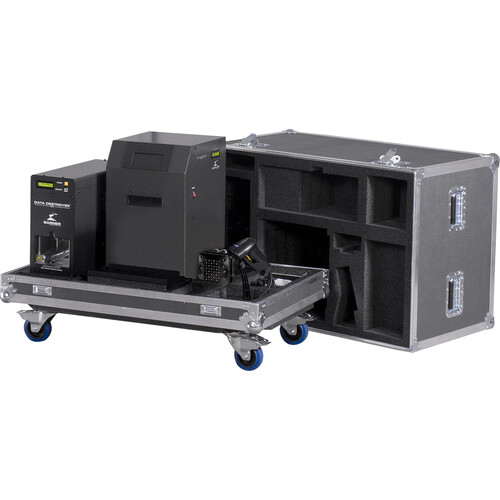 Garner PD-5 Multiple Hard Drive Destroyer Package with HD-3WXL Hard Drive Degausser and Case