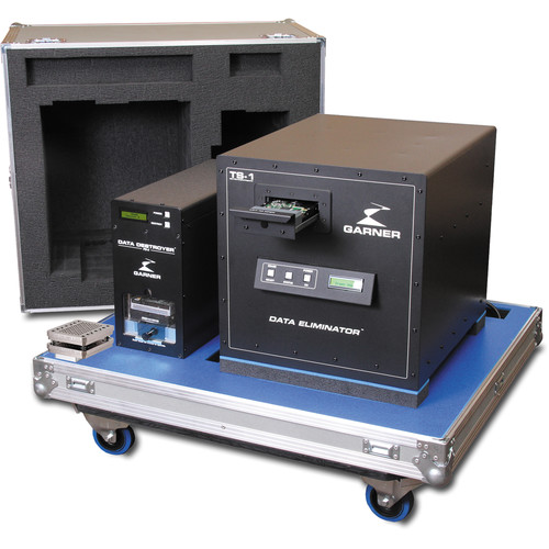 Garner PD-5 Multiple Hard Drive Destroyer Package with SSD-1 and Workstation