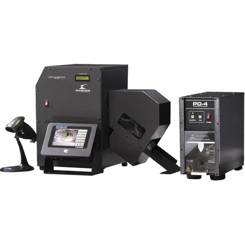Garner SW-2 Workstation with HD-3WXL Degausser, IRONCLAD Verification & PD-4 Destroyer