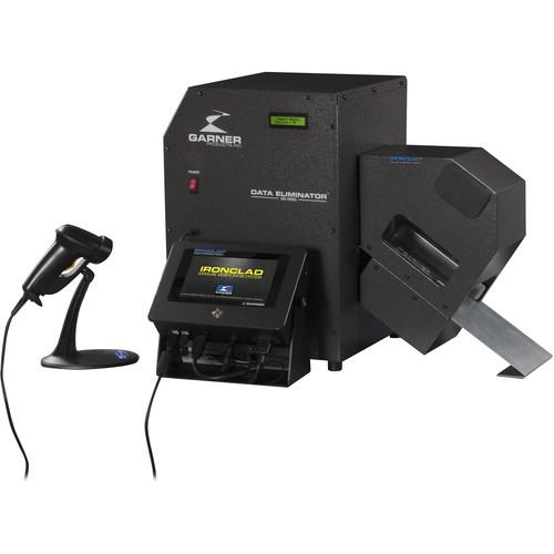 Garner Erasure Verification System with HD-3WXL Degausser